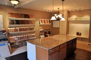 Full Design Centers At Each Edward Andrews Homes Home