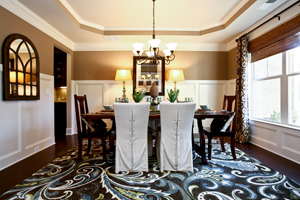 Example of elegance in South Forsyth new homes