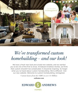 Edward Andrews Homes Brand Launch