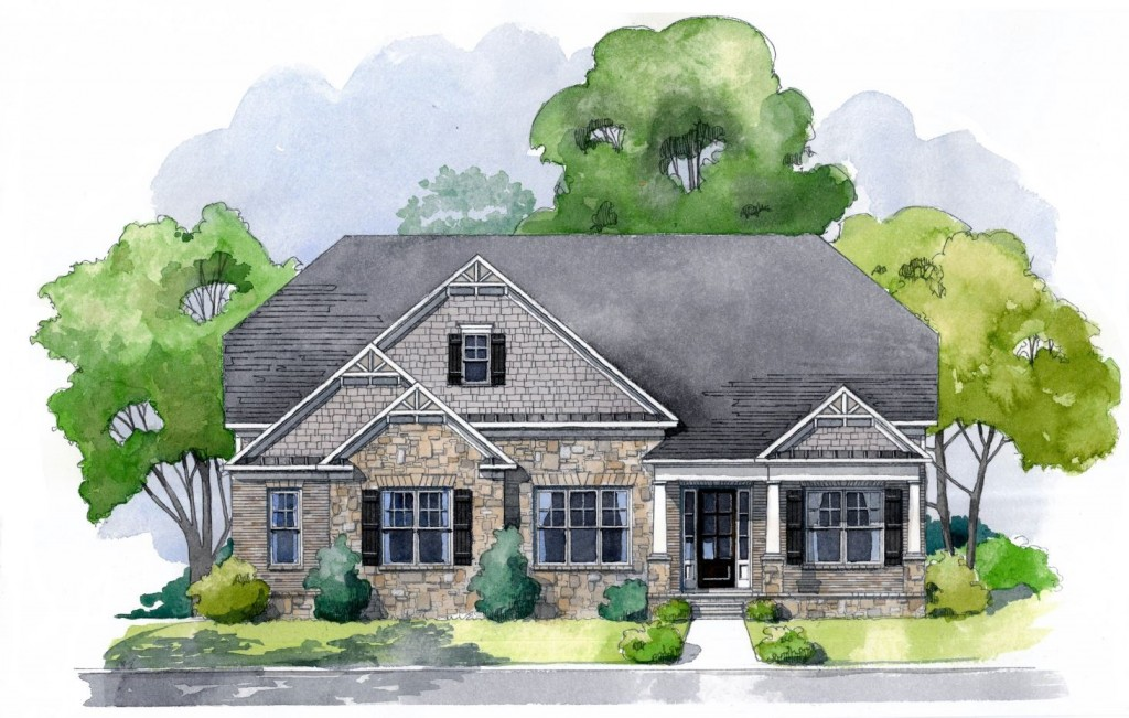 Rosewood manor north floorplans edward andrews homes for Rosewood home builders