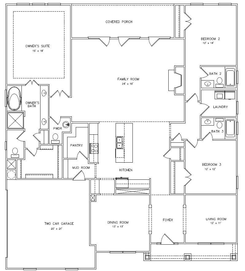 Rosewood Manor North Floorplans Edward Andrews Homes