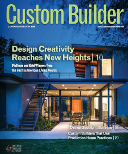 Edward Andrews Homes Featured on the Cover of Custom Builder