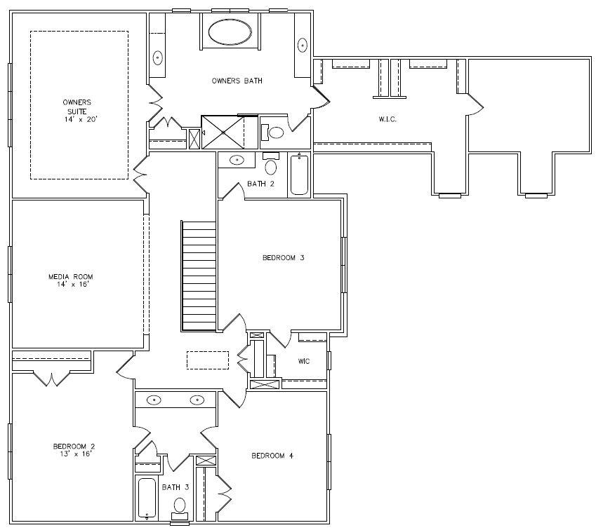 Windsor collingswood floorplans edward andrews homes for Windsor homes floor plans