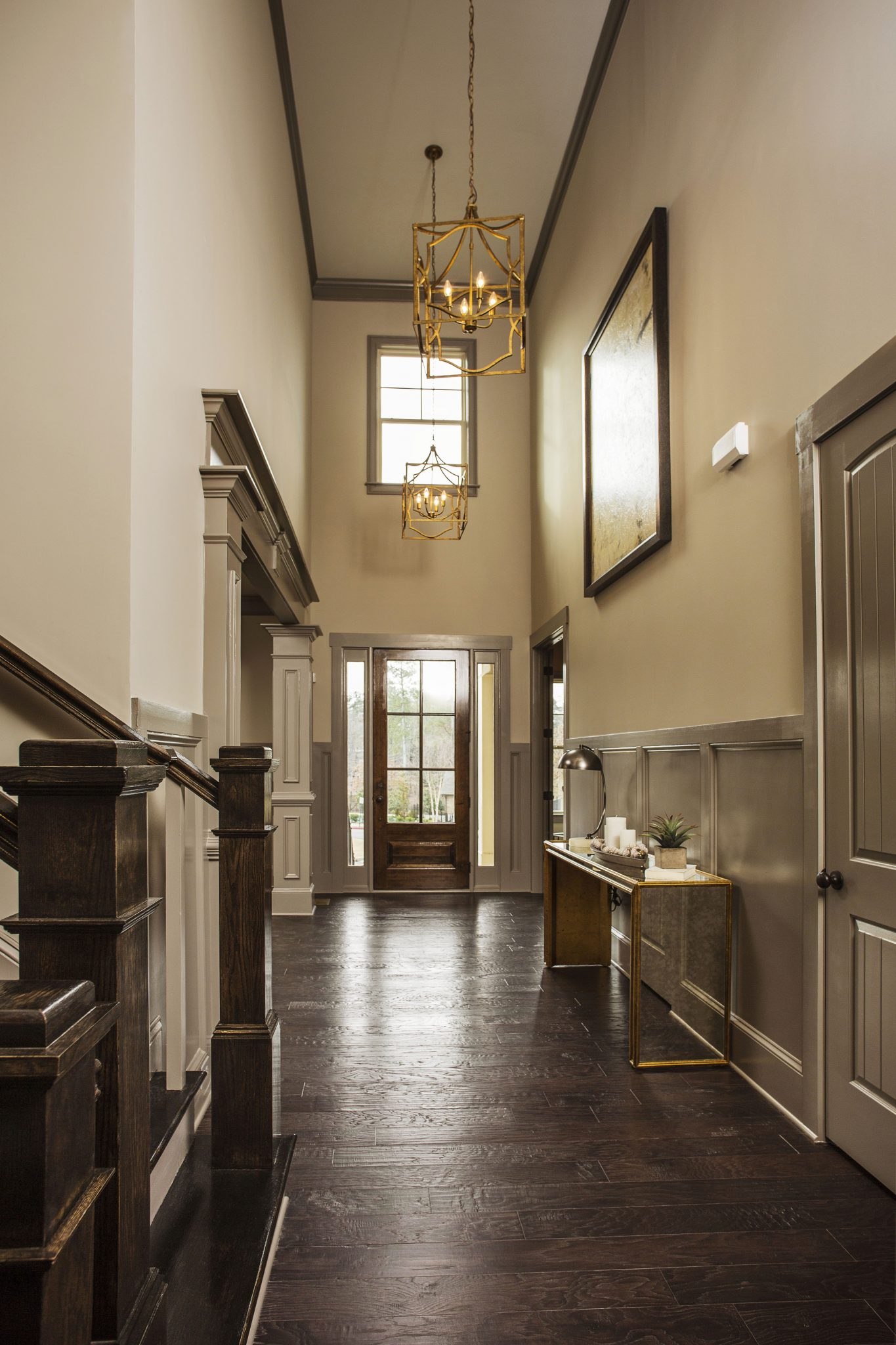 1000 images about manor north an edward andrews homes for High ceiling entryway