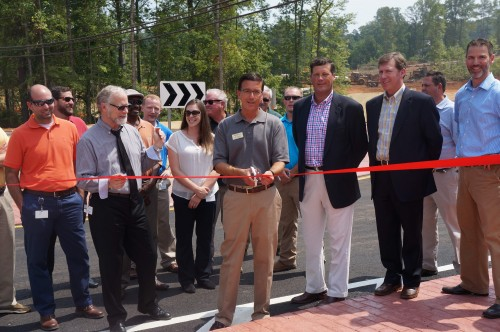 Roswell Steetscape Ribbon Cutting