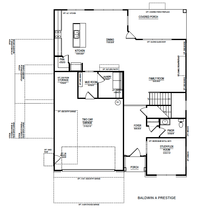 Baldwin haddonfield the grove floorplans edward for Baldwin floor plan