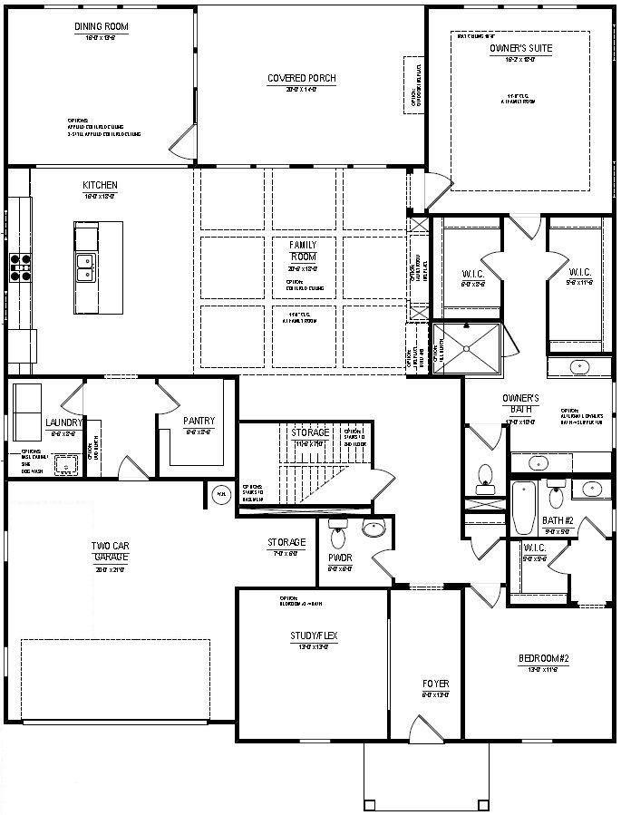 Grantham Larkspur Burnett Floorplans Edward Andrews