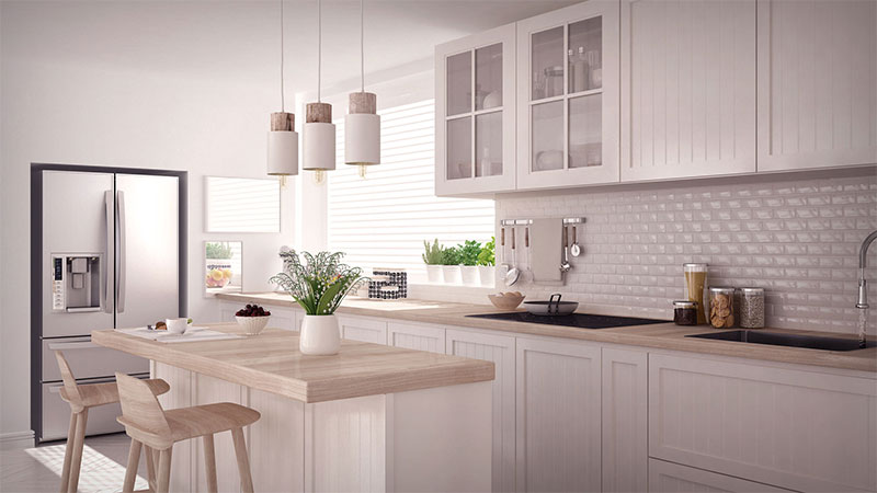 Look ahead at kitchen cabinetry trends for 2018 edward for Quiero ver cocinas